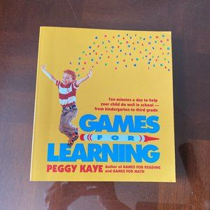 Games for Learning by Peggy Kaye